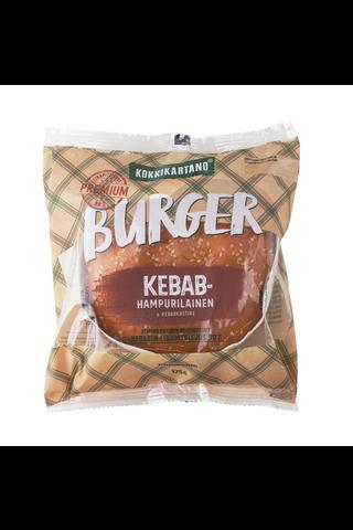 Kebabhampurilainen 175g