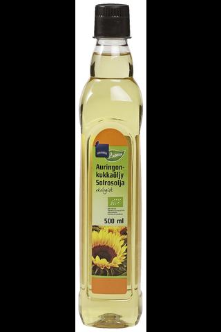 Luomu Auringokukkaöljy