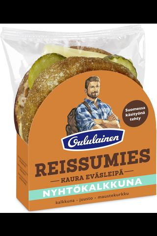 Kaura Eväsleipä 135g Nyhtökalkkuna kalkkuna-juusto-maustekurkku...