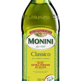 Monini Extra Virgin Classico ekstra-neitsytoliiviöljy...