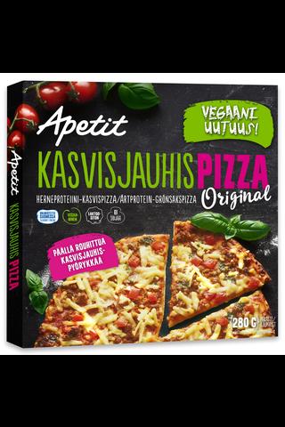 Apetit Kasvisjauhispizza Original herneproteiini-kasvispizza...