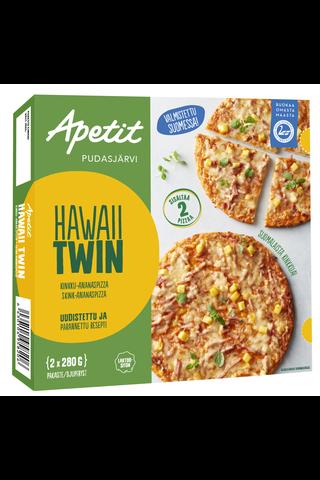 Hawaii twin pizza 2x280g
