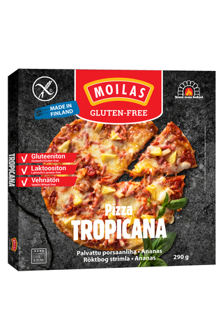 Moilas 290g gluteeniton Tropicana pizza pakaste