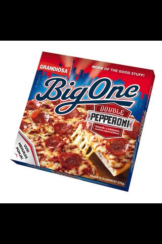 Grandiosa Big One pan pizza double pepperoni,...