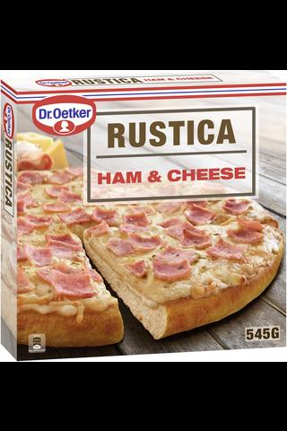 Dr. Oetker Rustica Ham & Cheese pakastepizza...