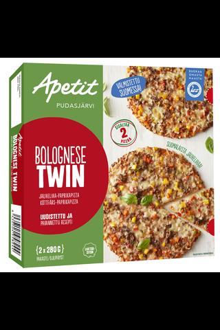 Apetit Bolognese Twin jauheliha-paprikapizza...