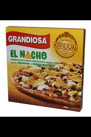 Grandiosa el nacho kiviuunipizza, jauhelihaa,...