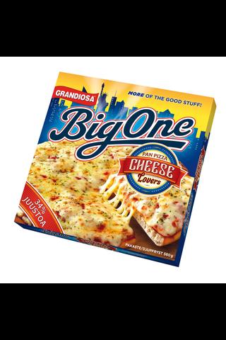Grandiosa Big One pan pizza cheese lovers...