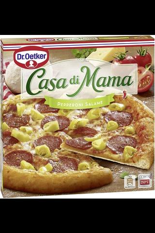 Dr. Oetker Casa di Mama Pepperoni-Salame...
