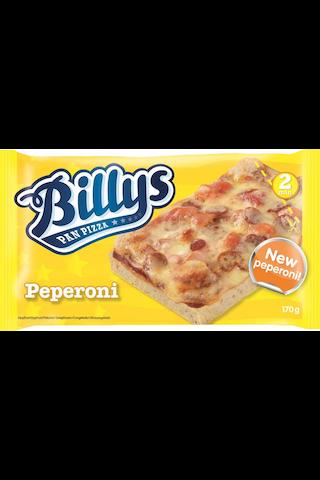 Billys 170g Peperoni Pan Pizza pakaste
