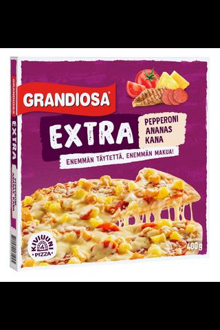 Grandiosa Extra pepperoni, kana ja ananas...