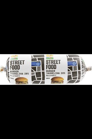 Snellman Street food burgerjauheliha 20%...