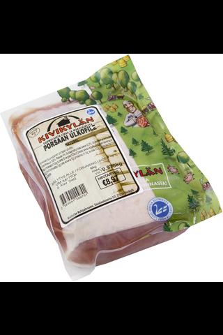 Porsaan ulkofile naturel 0,8-1,2 kg