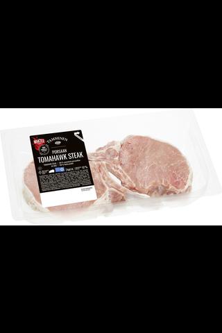 Tamminen Porsaan Tomahawk steak 2kpl/n500g