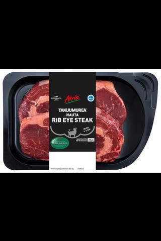 Atria Takuumurea Naudan Rib Eye Steak n600g