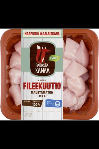 Naapurin Maalaiskanan fileekuutio maustamaton...