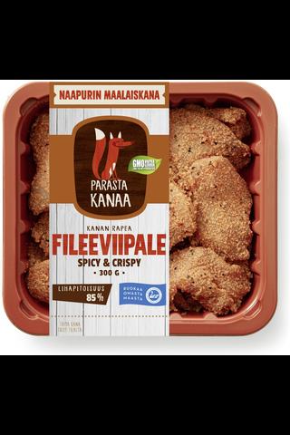 Naapurin Maalaiskanan fileeviipale spicy&crispy...