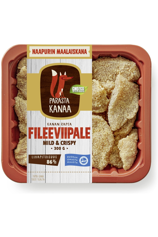 Naapurin Maalaiskanan fileeviipale mild&crispy...