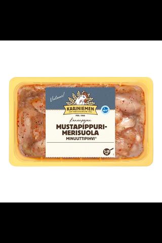 Kariniemen Kananpojan Minuuttipihvi mustapippuri-merisuola...