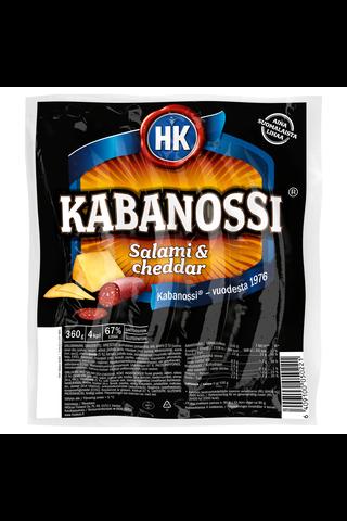 HK Kabanossi® Salami & Cheddar 360...