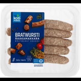 Kotimaista Bratwurst raakamakkara 240g