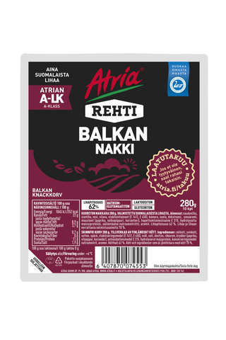 Atria Rehti Balkan Nakki 280g