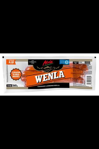 Atria Wenla kuorellinen kananakki 360g