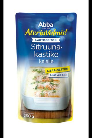 Abba AteriaValmis laktoositon sitruunakastike...