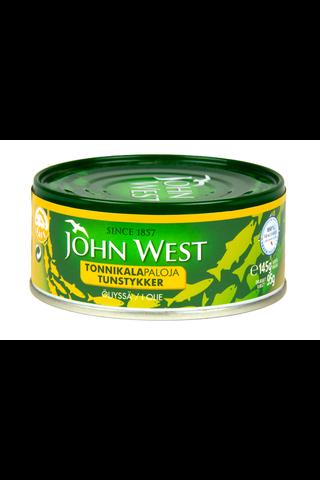 145/95g John West Tonnikalapala auringonkukkaöljyssä