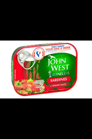 95/62g John West Ruodottomia sardiineja tomaattikastikkeessa