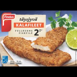 Findus Täysjyvä kalafileet MSC 250g, pakaste