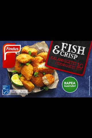 Findus Fish & Crisp kalanuggetit MSC...