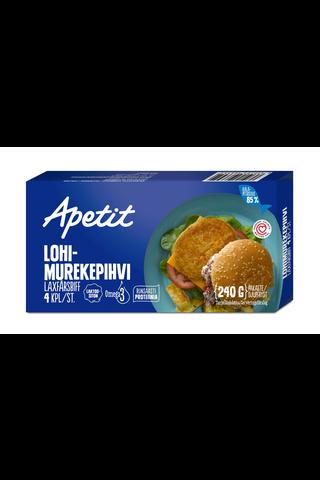 Apetit 240g Lohimurekepihvi Kypsä lohi-seitipihvi...
