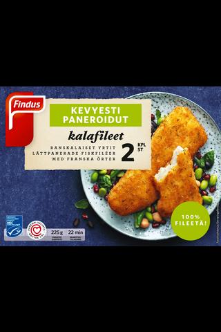 Findus Kevyesti paneroidut kalafileet, Ranskalaiset...