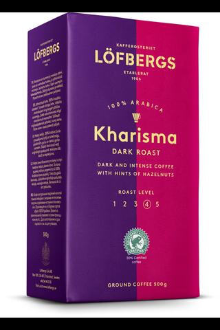 Löfbergs 500g Kharisma kahvi paahtoaste 4/5