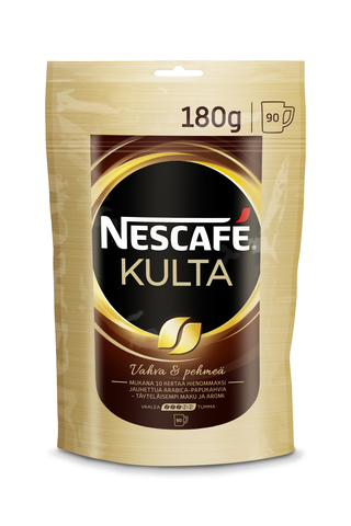 Nescafé Kulta 180g pikakahvi täyttöpussi
