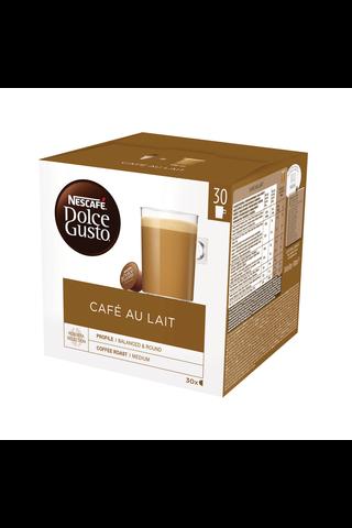 Nescafé Dolce Gusto 30kaps/300g Café au Lait maitokahvikapseli