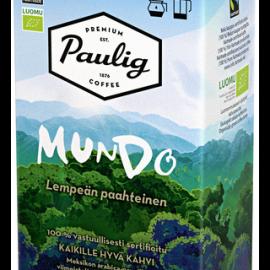Paulig Mundo 500g hienojauhettu kahvi Reilu...