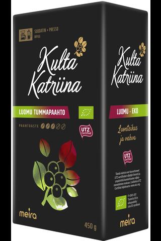 Kulta Katriina Luomu tumma paahto suodatinkahvi...