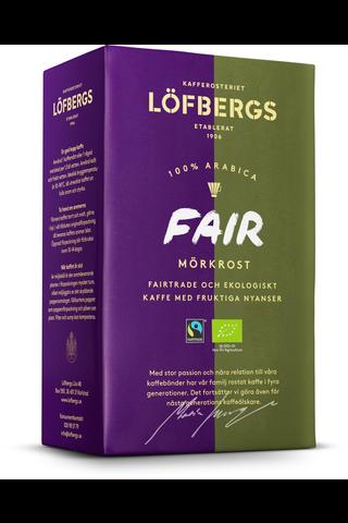 Löfbergs Fair Mörkrostat Kaffe 450g