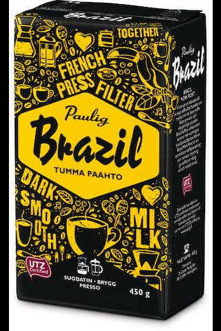 Brazil Dark Roast 450g hienojauhettu kahvi...