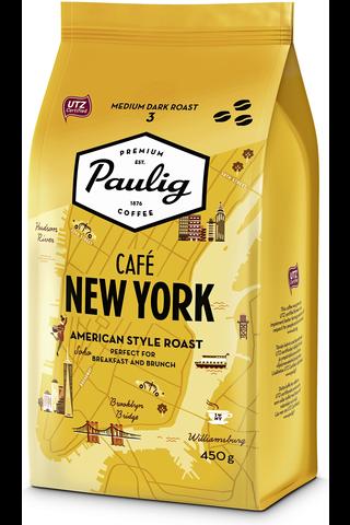 Paulig Café New York 450g papukahvia UTZ
