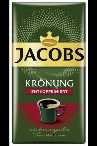 Jacobs Krönung kofeiiniton suodatinkahvi...