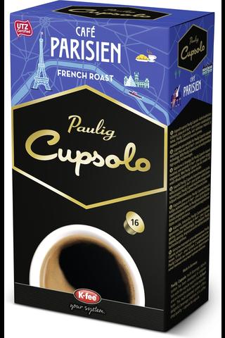 Paulig Cupsolo Café Parisien UTZ 16kpl paahdettua,...