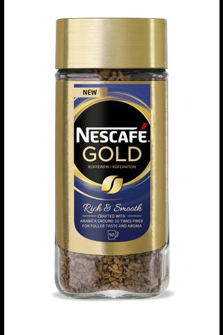 Nescafé Gold 100g kofeiiniton pikakahvi