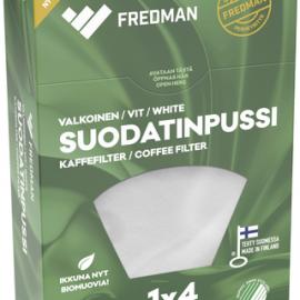 Fredman suodatinpussi 1×4 valkoinen...