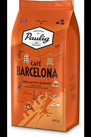 Paulig Café Barcelona 450 g papukahvia UTZ