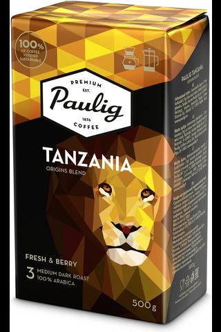 Paulig Tanzania Origins Blend 500g hienojauhettu...