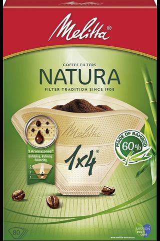 Melitta Natura 1×4/80 suodatinpaperi