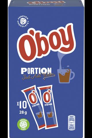 Oboy Portion kaakaojuomajauhe 28g